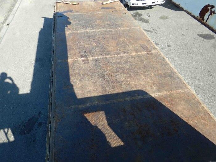 日野 レンジャー 中型 クレーン付 床鉄板 アルミブロック 画像5