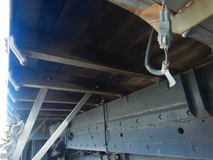 日野 レンジャー 中型 クレーン付 床鉄板 アルミブロック 画像11