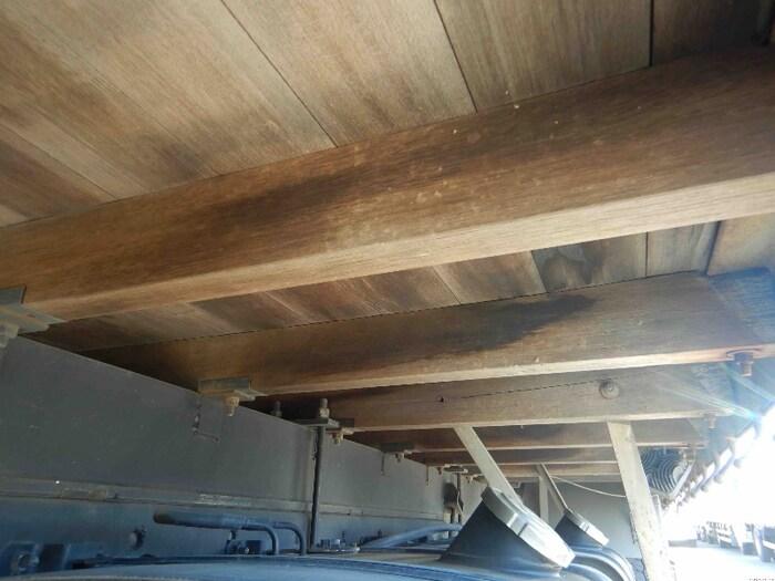 日野 レンジャー 中型 クレーン付 床鉄板 アルミブロック 画像12