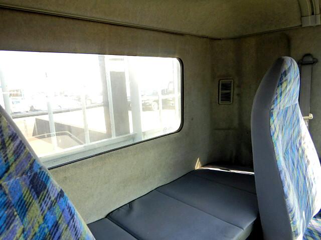 三菱 ファイター 中型 平ボディ 床鉄板 ベッド|画像9
