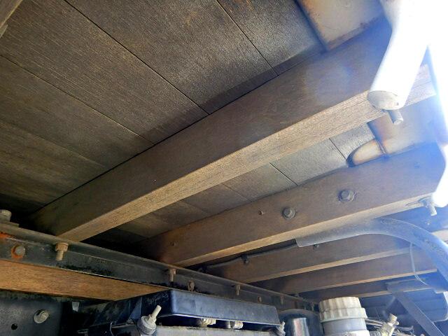 三菱 ファイター 中型 平ボディ 床鉄板 ベッド|画像16