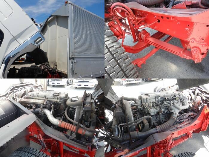 三菱 ファイター 中型 ウイング ベッド PJ-FK62FZ|走行距離 40.1万km トラック 画像 トラックランド掲載