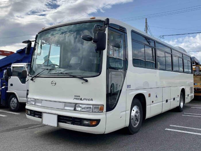 日野 メルファ 中型 バス 乗合バス PB-RR7JJAA|トラック 左前画像 トラックバンク掲載