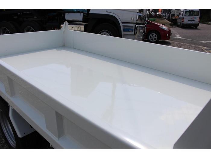 三菱 キャンター 小型 ダンプ 強化 2PG-FBA30|荷台 床の状態 トラック 画像 トラックサミット掲載
