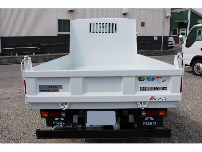 三菱 キャンター 小型 ダンプ 強化 2PG-FBA30|積載 2t トラック 画像 ステアリンク掲載