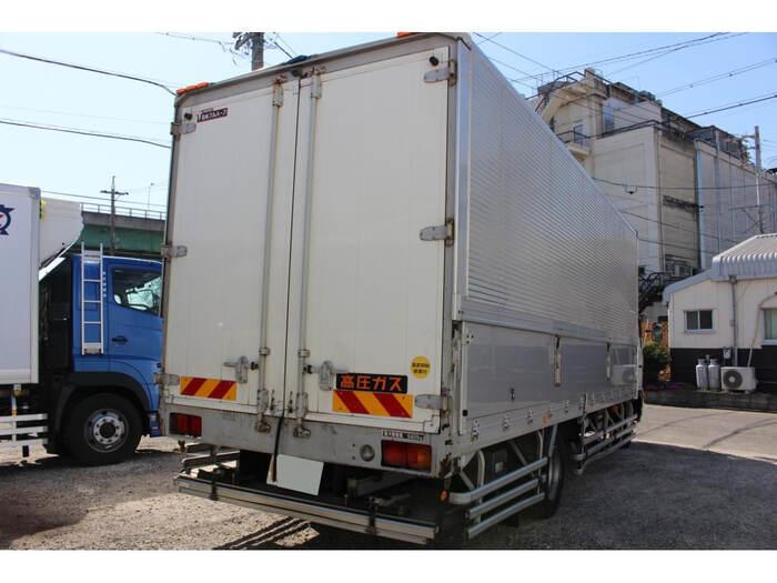 日野 レンジャー 中型 ウイング パワーゲート ベッド|トラック 背面・荷台画像 トラック市掲載