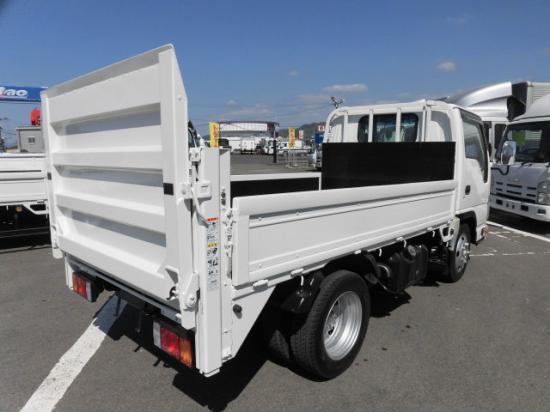 マツダ タイタン 小型 平ボディ パワーゲート TKG-LKR85A|トラック 右後画像 リトラス掲載