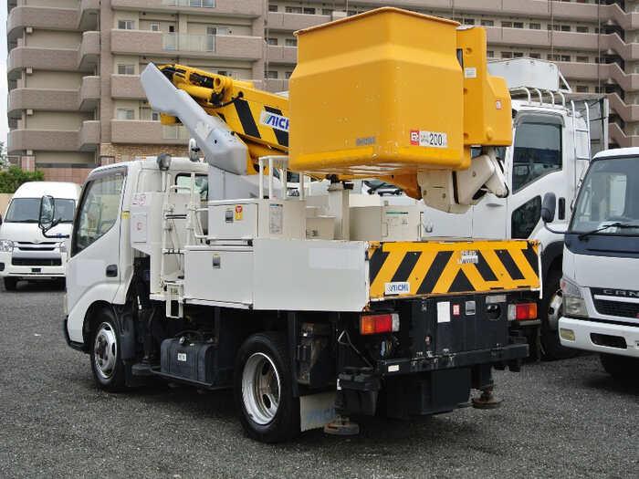 日野 デュトロ 小型 高所・建柱車 高所作業車 PB-XZU368M|画像2