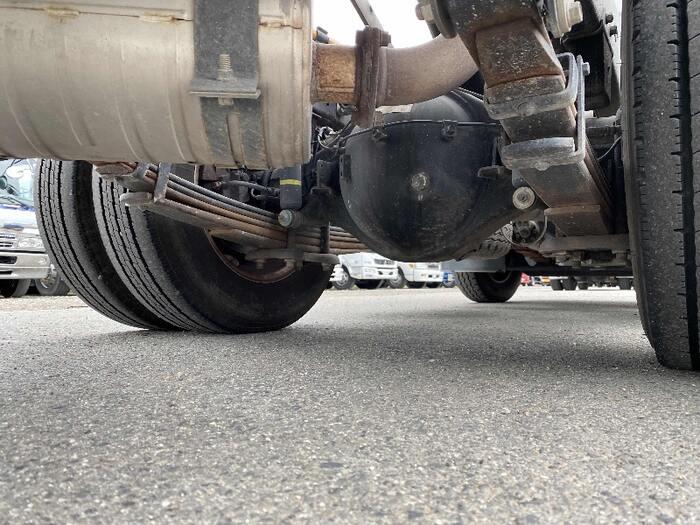 三菱 キャンター 小型 ダンプ コボレーン TKG-FBA60|荷台 床の状態 トラック 画像 トラックサミット掲載