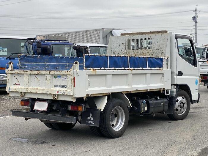 三菱 キャンター 小型 ダンプ コボレーン TKG-FBA60|トラック 右後画像 リトラス掲載