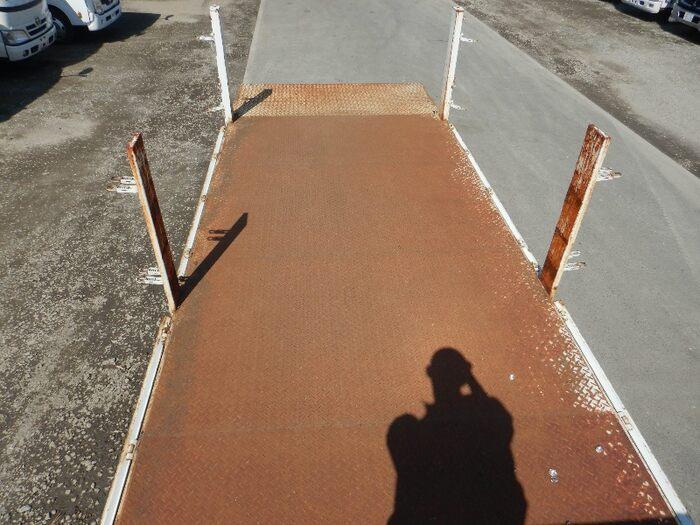 三菱 キャンター 小型 平ボディ パワーゲート 床鉄板|画像4
