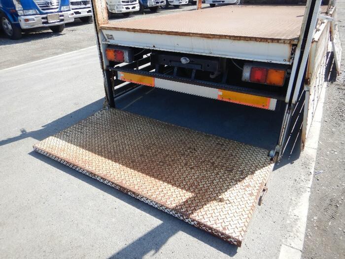 三菱 キャンター 小型 平ボディ パワーゲート 床鉄板|画像7