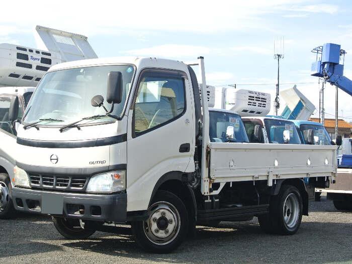 日野 デュトロ 小型 平ボディ PB-XZU401M H16|トラック 左前画像 トラックバンク掲載