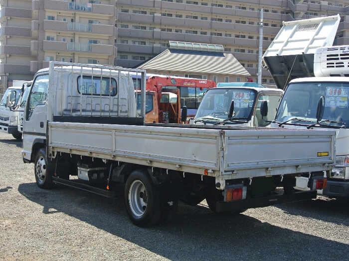 日産 アトラス 小型 平ボディ 床鉄板 PB-APR81AN|トラック 右後画像 リトラス掲載