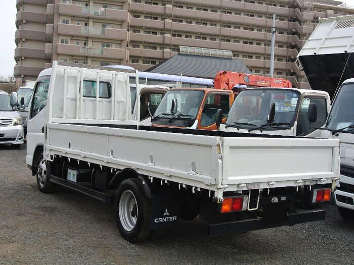 三菱 キャンター 小型 平ボディ PA-FE72BE H19 トラック 右後画像 リトラス掲載