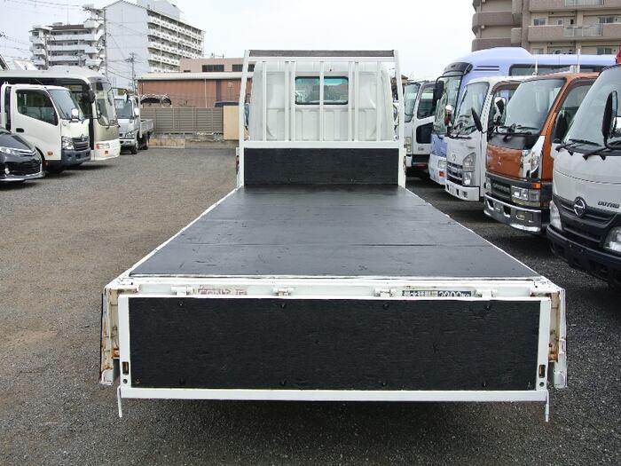 三菱 キャンター 小型 平ボディ PA-FE72BE H19 トラック 背面・荷台画像 トラック市掲載