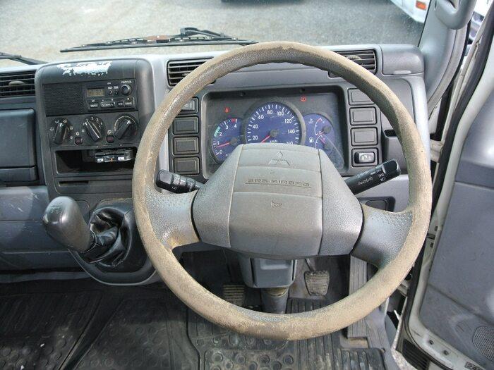 三菱 キャンター 小型 平ボディ PA-FE72BE H19 シフト MT5 トラック 画像 ステアリンク掲載
