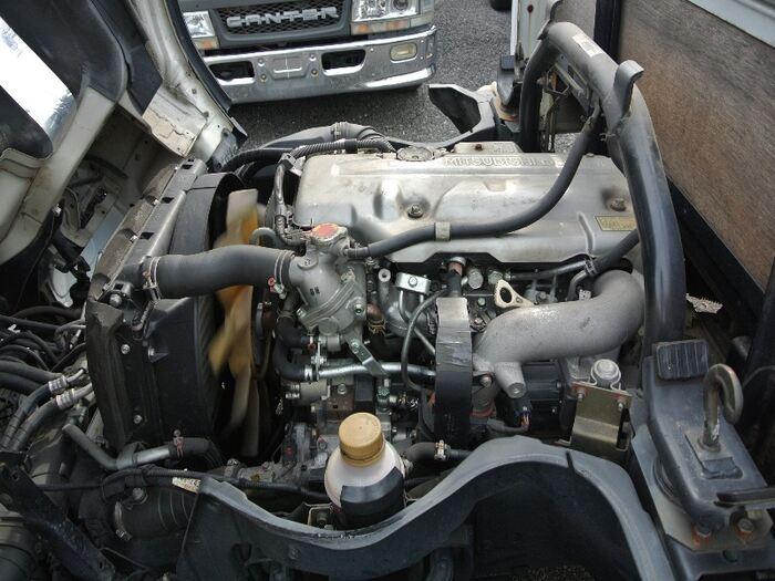 三菱 キャンター 小型 平ボディ PA-FE72BE H19 積載 2t トラック 画像 ステアリンク掲載
