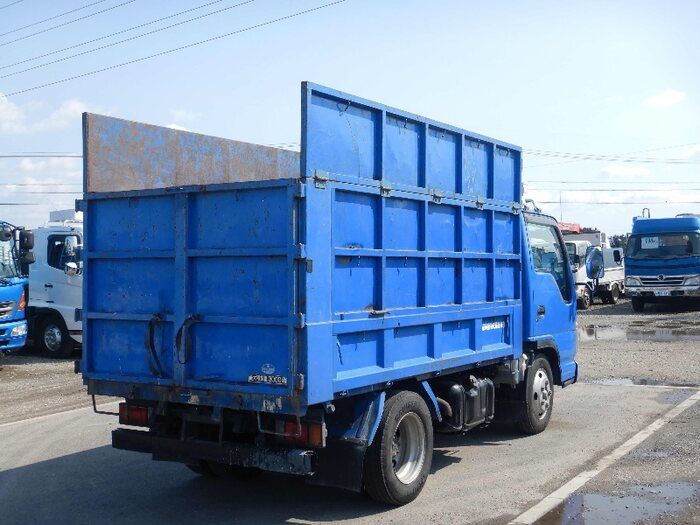マツダ タイタン 小型 ダンプ 土砂禁 BDG-LKR85AD|トラック 右後画像 リトラス掲載