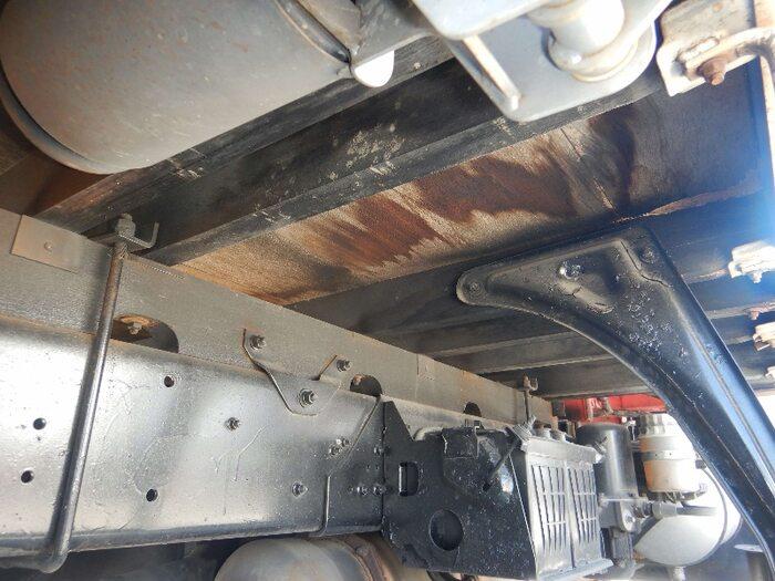 三菱 ファイター 中型 クレーン付 床鉄板 3段 画像14