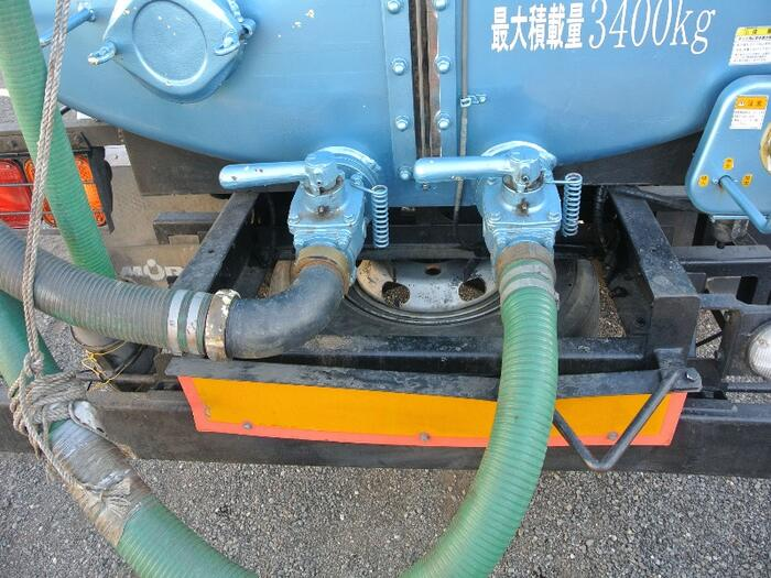 三菱 ファイター 中型 タンク車 バキューム KK-FK71HC 画像8