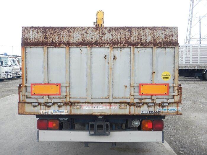 日野 レンジャー 中型 車輌重機運搬 4段クレーン ラジコン トラック 背面・荷台画像 トラック市掲載