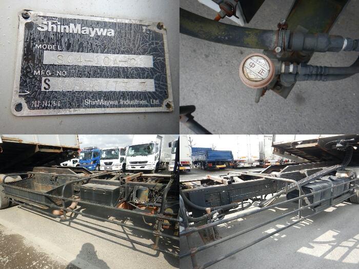 日野 レンジャー 中型 車輌重機運搬 4段クレーン ラジコン 運転席 トラック 画像 トラック王国掲載
