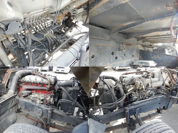 日野 レンジャー 中型 車輌重機運搬 4段クレーン ラジコン フロントガラス トラック 画像 トラック王国掲載