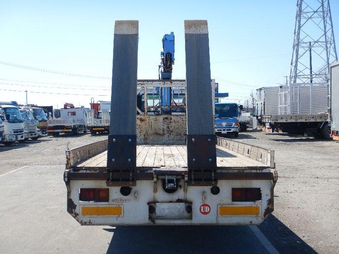 日産UD コンドル 中型 車輌重機運搬 3段クレーン フックイン 画像3