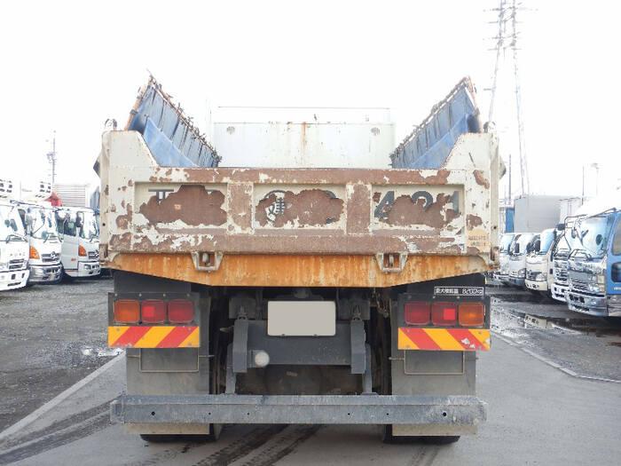 三菱 スーパーグレート 大型 ダンプ コボレーン ベッド|トラック 背面・荷台画像 トラック市掲載