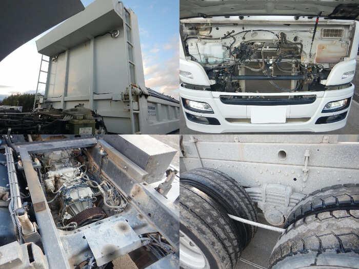 三菱 スーパーグレート 大型 ダンプ コボレーン ベッド|エンジン トラック 画像 トラスキー掲載
