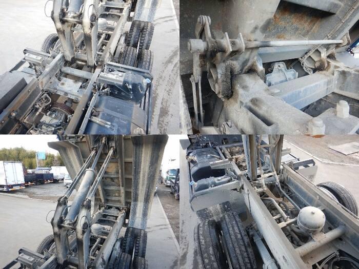 三菱 スーパーグレート 大型 ダンプ コボレーン ベッド|フロントガラス トラック 画像 トラック王国掲載
