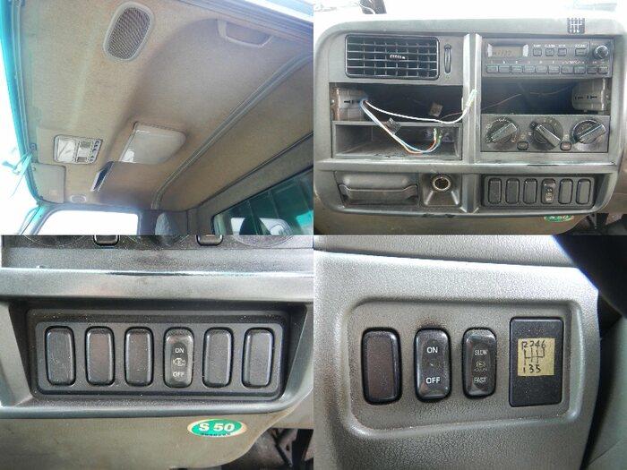 三菱 ファイター 中型 平ボディ PA-FK71RJ H17|運転席 トラック 画像 トラック王国掲載