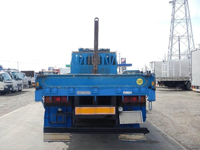 日野 プロフィア 大型 平ボディ ベッド KS-FR1ESWA|トラック 背面・荷台画像 トラック市掲載