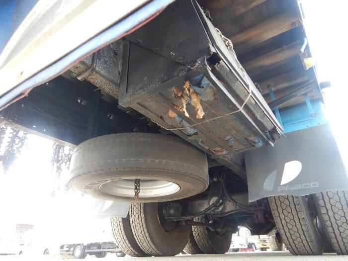 日野 プロフィア 大型 平ボディ ベッド KS-FR1ESWA|フロントガラス トラック 画像 トラック王国掲載