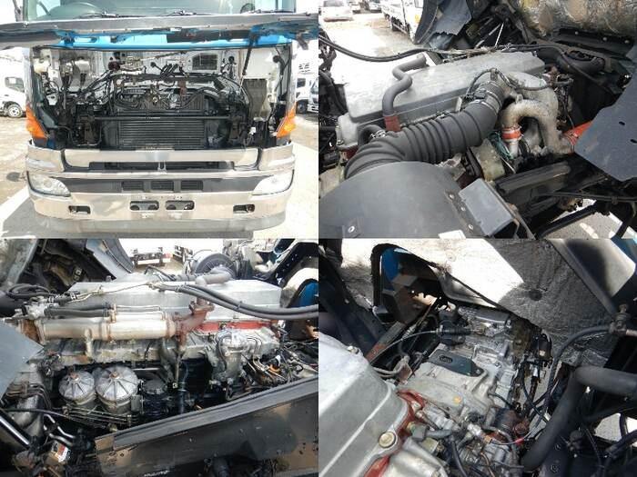 日野 プロフィア 大型 平ボディ ベッド KS-FR1ESWA|荷台 床の状態 トラック 画像 トラックサミット掲載